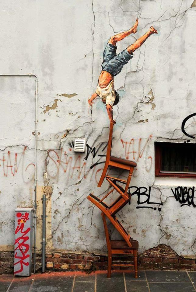 Ernest Zacharevic - street artist