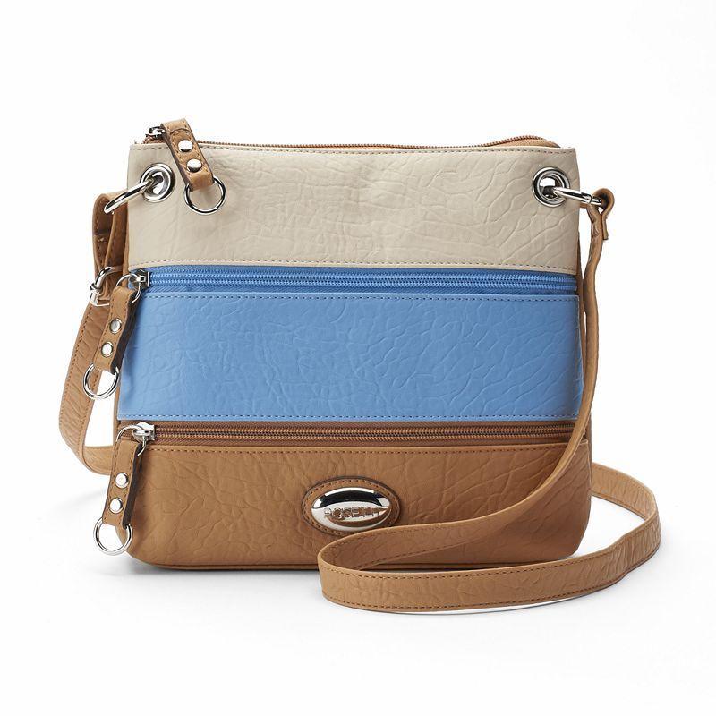 1bb2fcf1ad41 Rosetti Demi Zips Colorblock Crossbody Bag