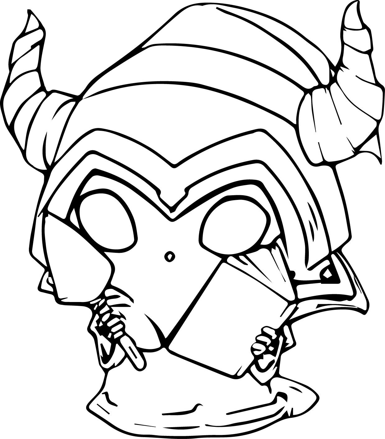 Download cute_minion_halloween_coloring_page | LineArt: HalloweMonsters | Pinterest | Minion halloween ...