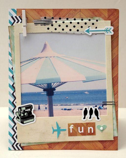 Beach Theme Card Stock: Beach Cards, Seaside, Cards