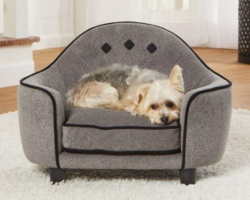 Headboard Sofa Grey Enchanted Home Pet Dog Sofa Dog Sofa Bed Pet Sofa