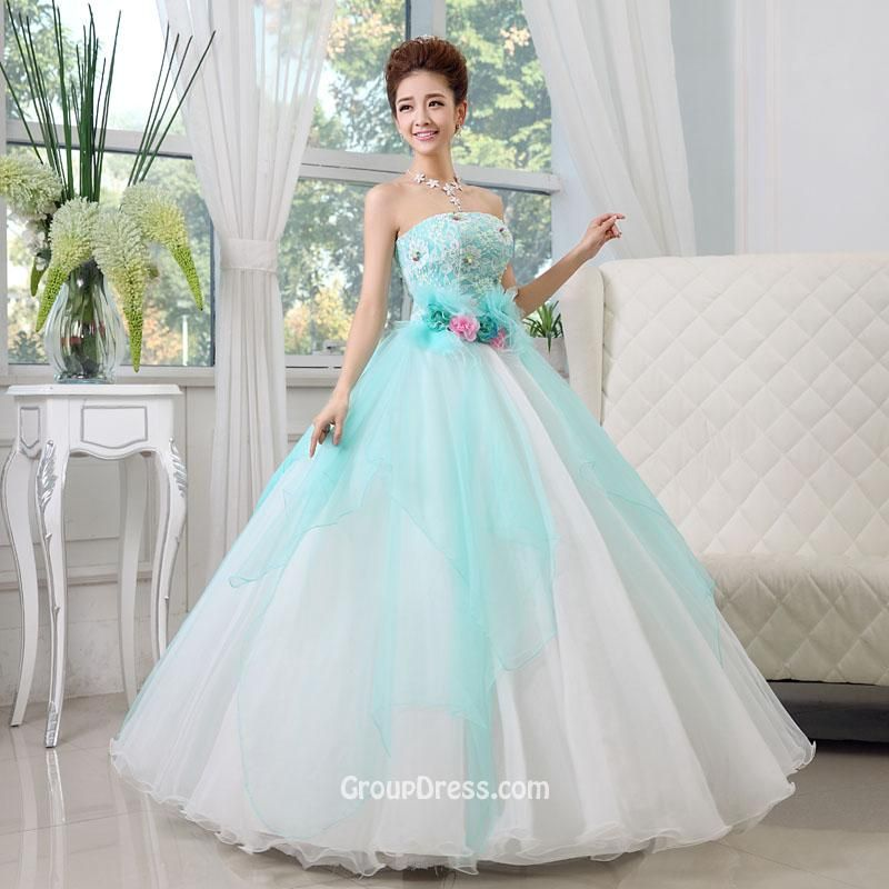 Image result for white wedding dress with aqua lace | Dresses ...