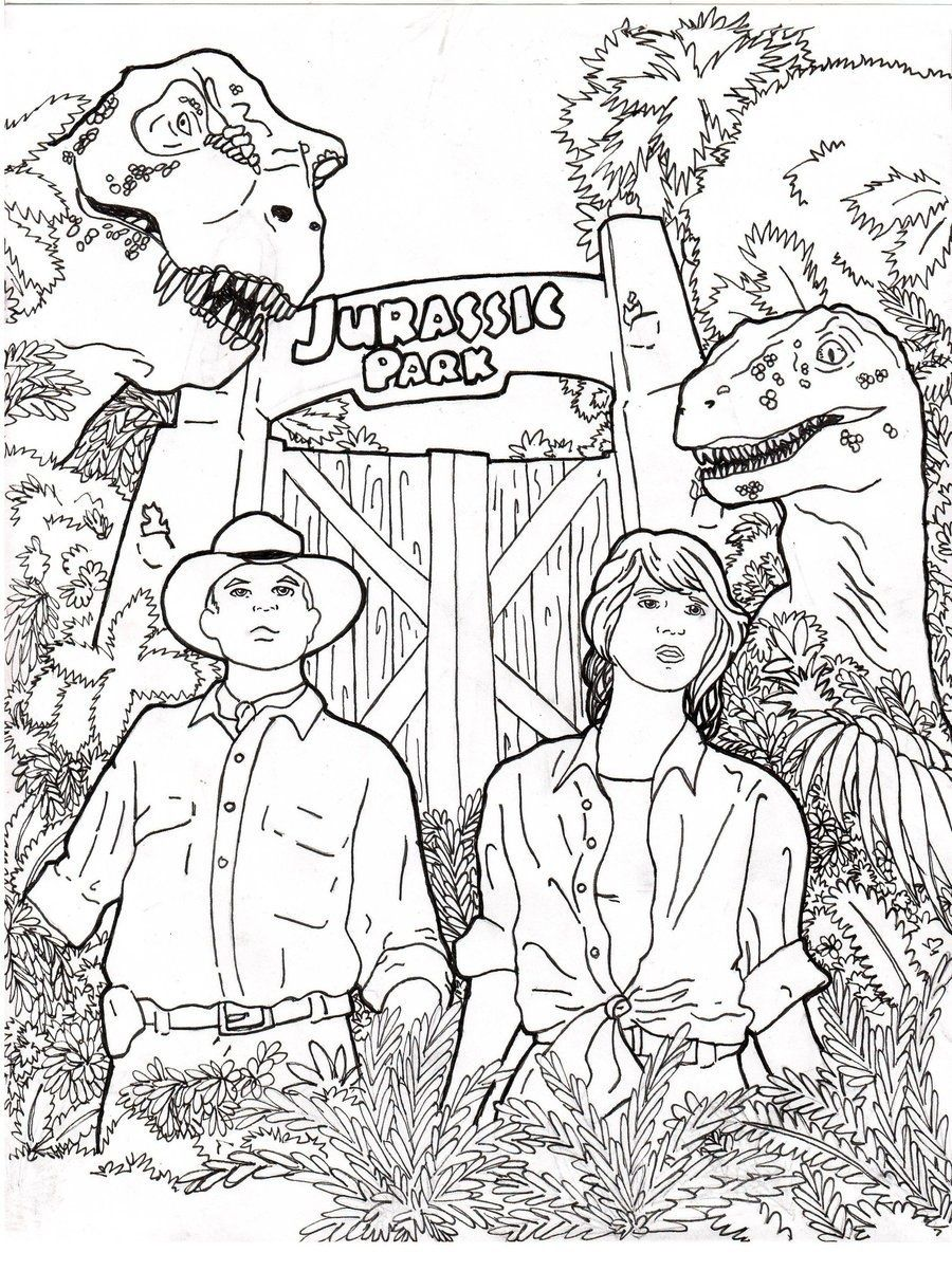 elegant jurassic park coloring pages 71 for in  dinosaur