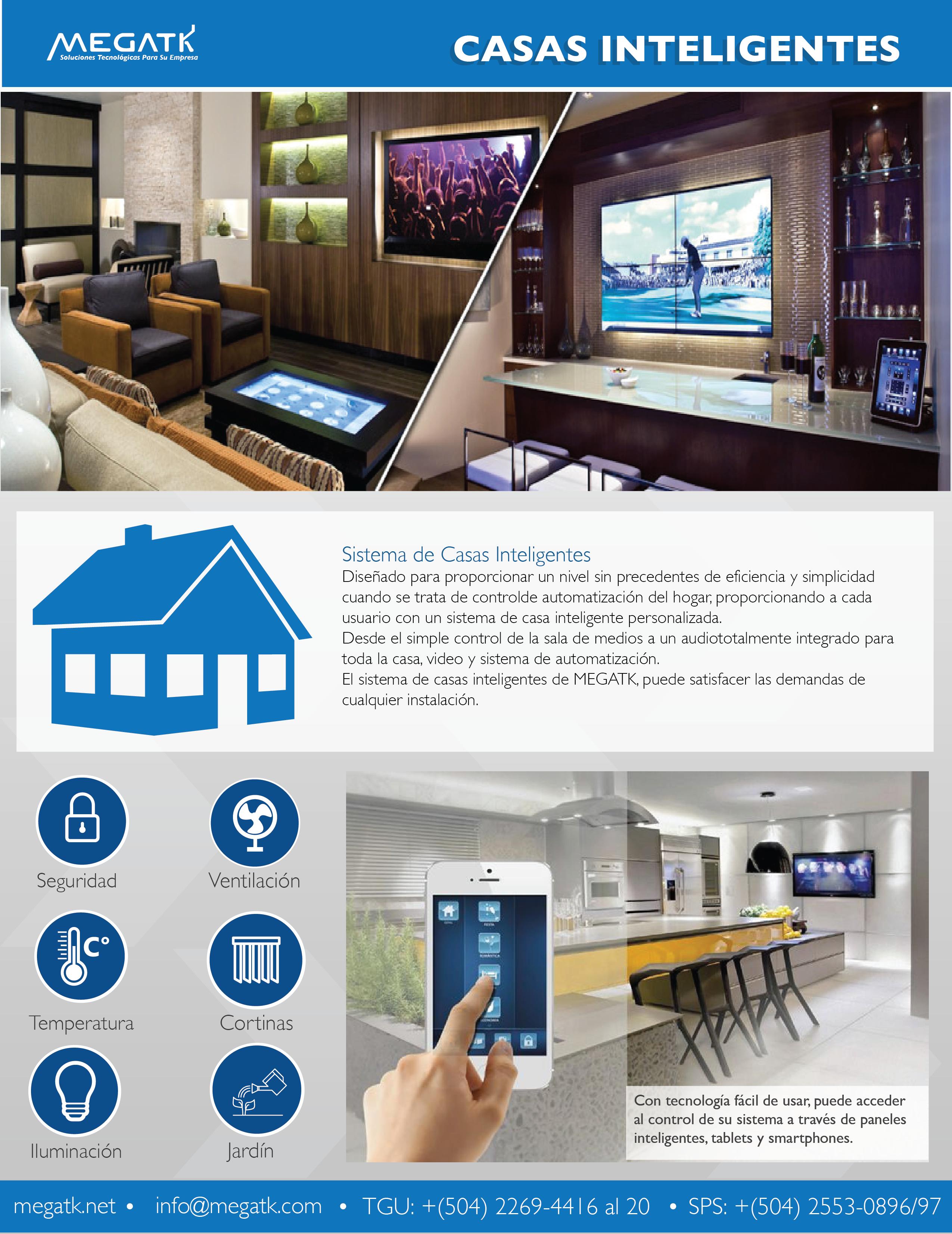 Sistema de casa inteligentes Casa inteligente, Domotica