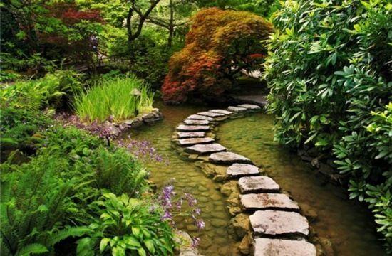 Gestaltung Gartenteich kreative gartenwege gestaltung gartenteich anlegen j jardinería y
