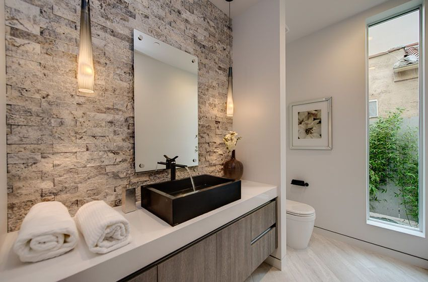 21 Bathroom Pendant Lighting Design Ideas Modern Master Bathroom Contemporary Master Bathroom Bathroom Pendant Lighting