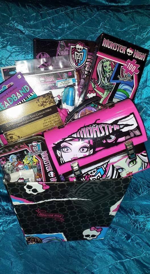 Monster High Gift Basket