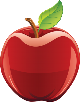 Red apple PNG image (With images) Red apple, Red apple