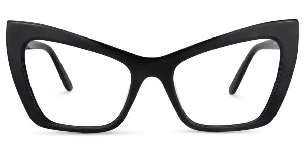 Kyle Cat Eye Black Glasses Zeelool Optical Cat Eye Glasses Glasses Eyeglasses For Women