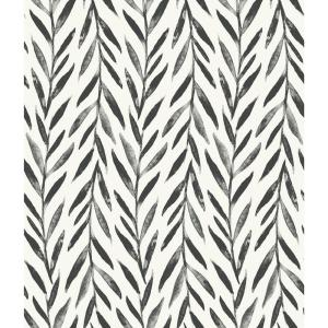 Magnolia Home By Joanna Gaines Willow Black Paper Strippable Roll Covers 56 Sq Ft Mk1136 The Home Depot Peel And Stick Wallpaper Home Wallpaper Magnolia Homes