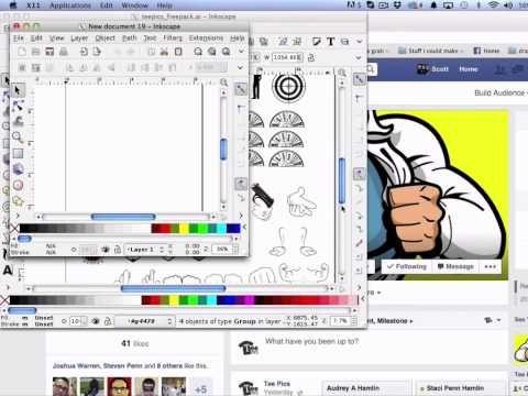 11eed8d99 ▷ Using Inkscape For Basic T-Shirt Design - YouTube | Inkscape ...