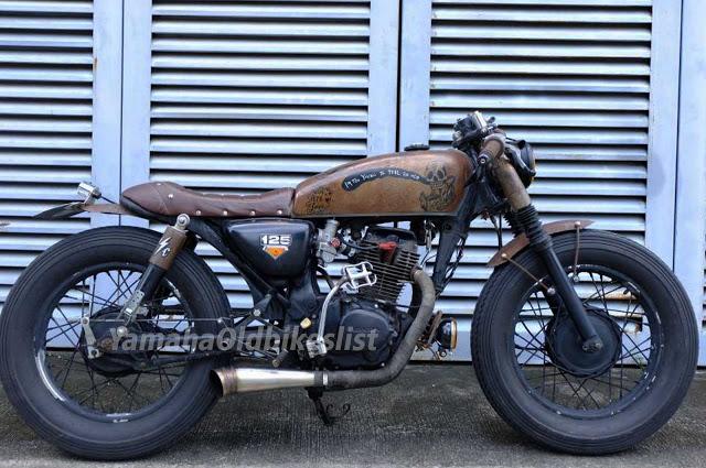 Rusty Cafe Racer Look Ideas Dengan Gambar