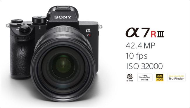 Sony a7R III comes with 4K video support, wide dynamic range and ...