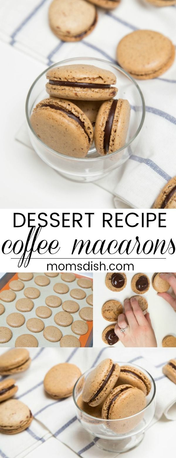 Coffee Macarons Recipe - Momsdish