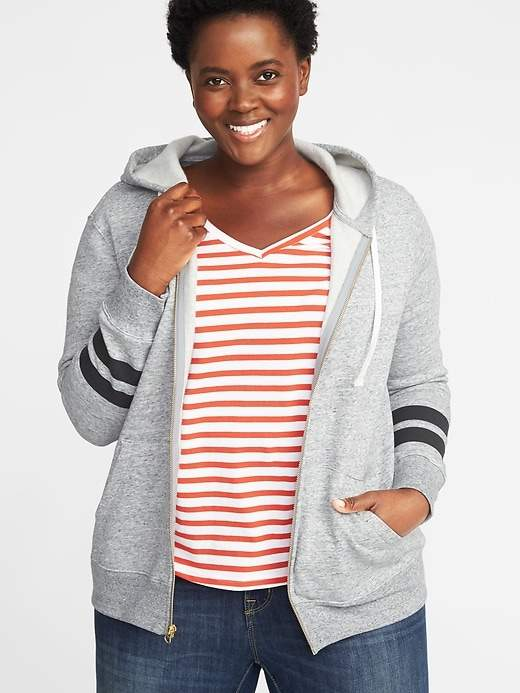 97b51e3429c4fe Old Navy Relaxed Plus-Size Zip Hoodie