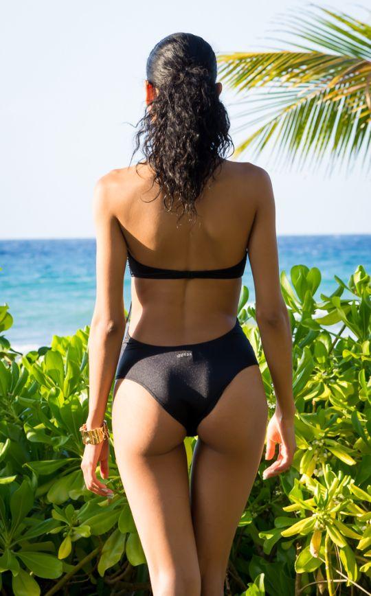 BlasianGurl, Victoria Kristine, Fashion Blogger, Toronto, Swim, Beachwear, Guess, Monokini, Fringe, One Piece