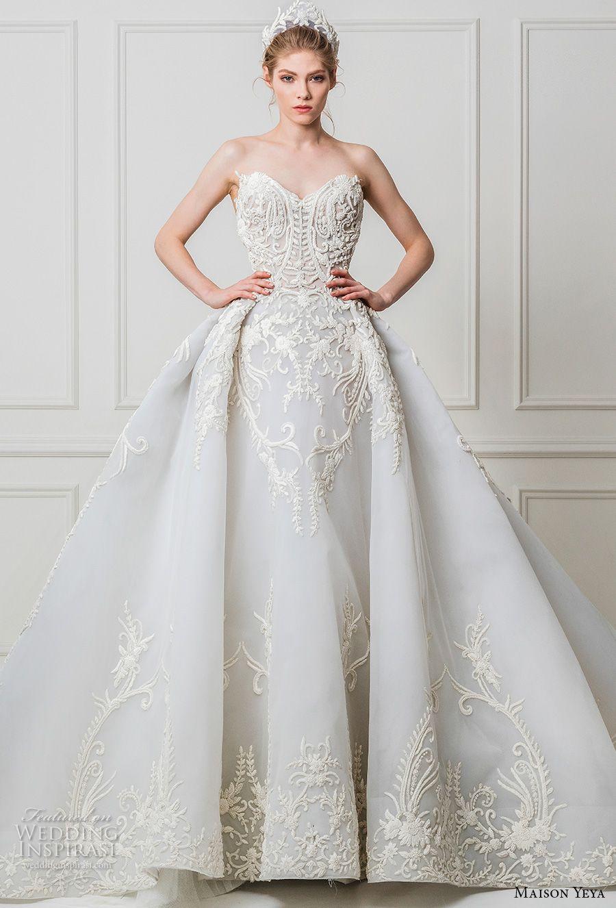 Ball gowns wedding dresses  Maison Yeya  Wedding Dresses u ucLes Réfugiés Duamourud Bridal