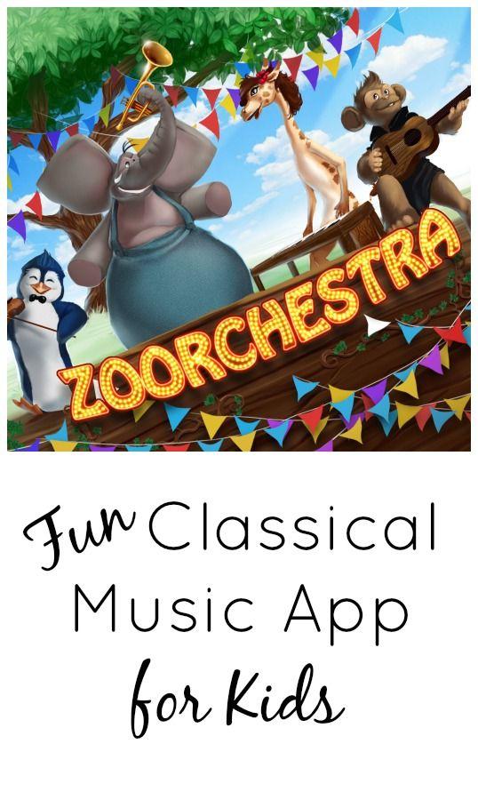 Zoorchestra Music App for Kids Music app, Music lessons