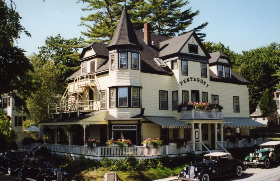 Any bed and breakfast in Maine. This one is the Pentagoet