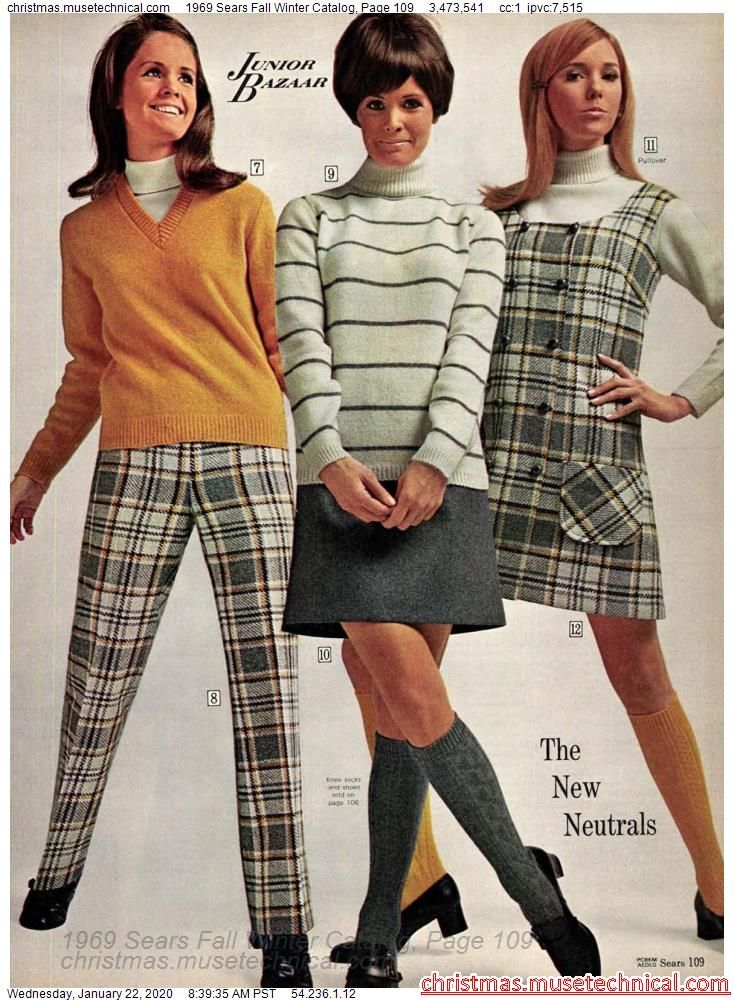 1969 Sears Fall Winter Catalog, Page 109 - Christm