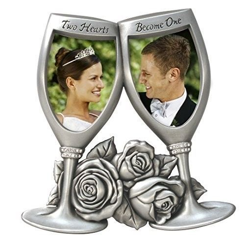 Champagne Glasses Metal Wedding Picture Frame 2x3 Anniversary Gifts ...