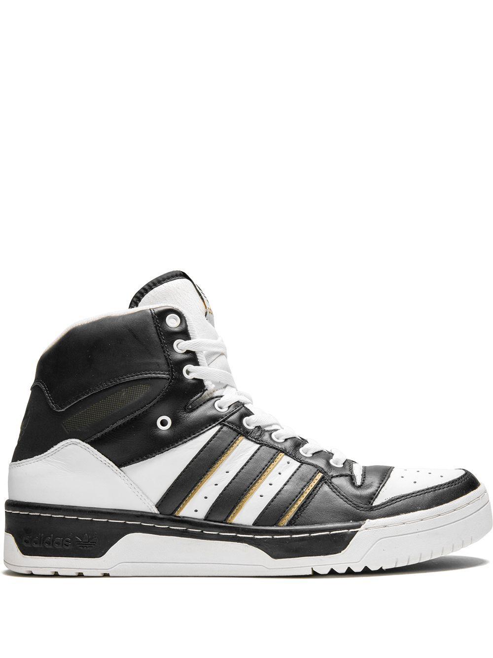 Adidas Attitude Hi Sneakers White Adidas Attitude Sneakers
