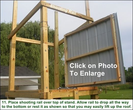 Free Box Deer Stand Building Plans Gardening Hunting