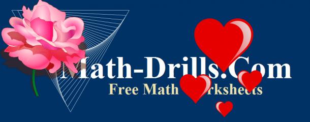 Valentine Math Worksheets High School