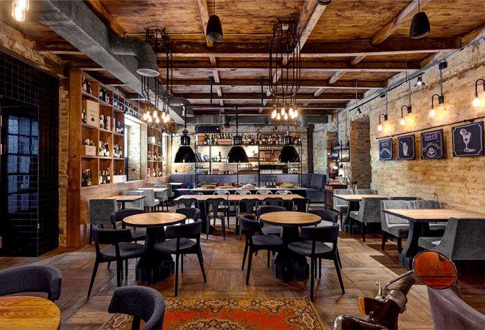 Bottega wine and tapas by kley design studio kiev