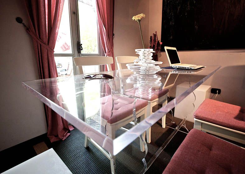 plexiglass #table #acrylic #design #tavoli #shop #online | For the ...