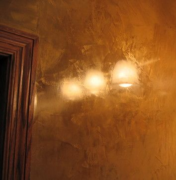 Master Bathroom Wall - Italian Venetian Plaster - Bella Faux