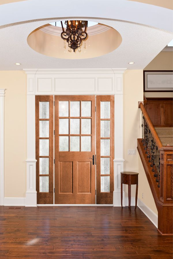Frosted Gl Panel Door - Home Ideas on