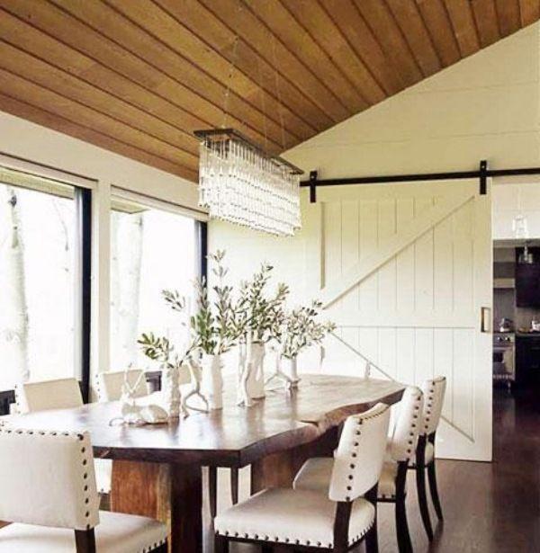 schiebetüre holz im interieur esszimmer küche Dining rooms I - bilder für küche und esszimmer