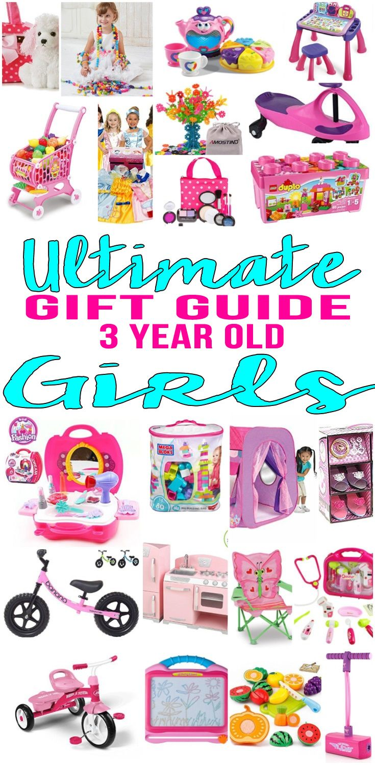 Best Toys Gifts For 3 Year Old Girls : Best gifts for year old girls gift suggestions third