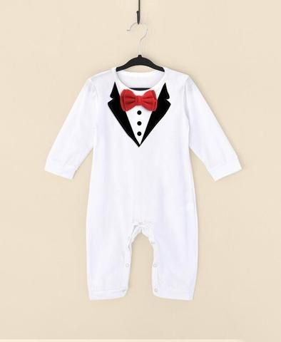 Gentleman Suit Bow Leisure Clothing Toddler Jumpsuit Costume Bebek Giyim Baby Boys Brand Clothes