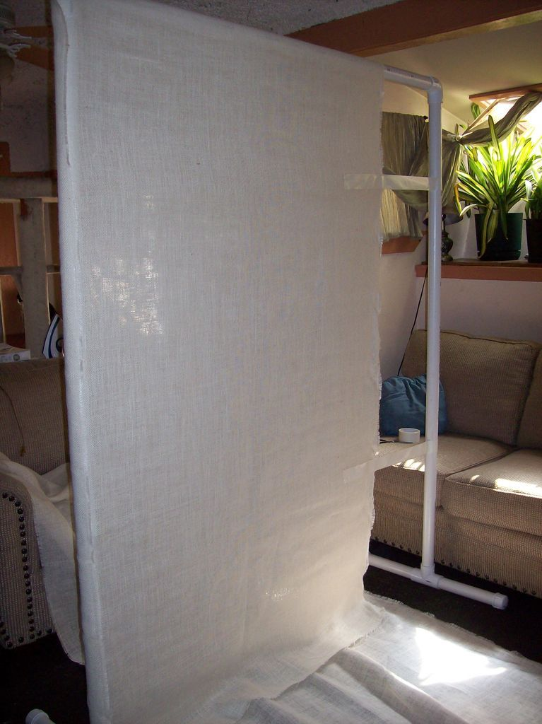 Pvc Room Divider Cheap And Easy Divisor De Ambiente Disenos
