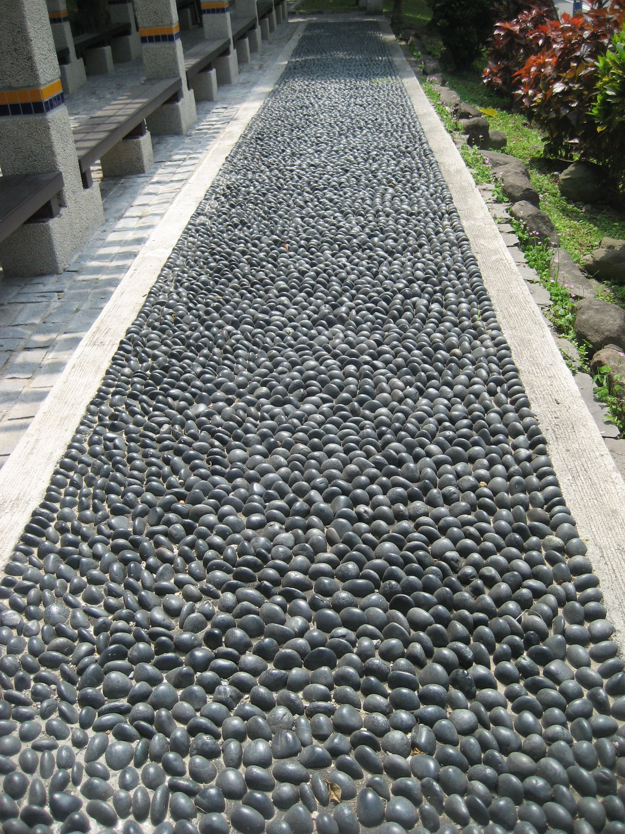 Rock Your Feet With This Stone Path Created To Massage Your Feet