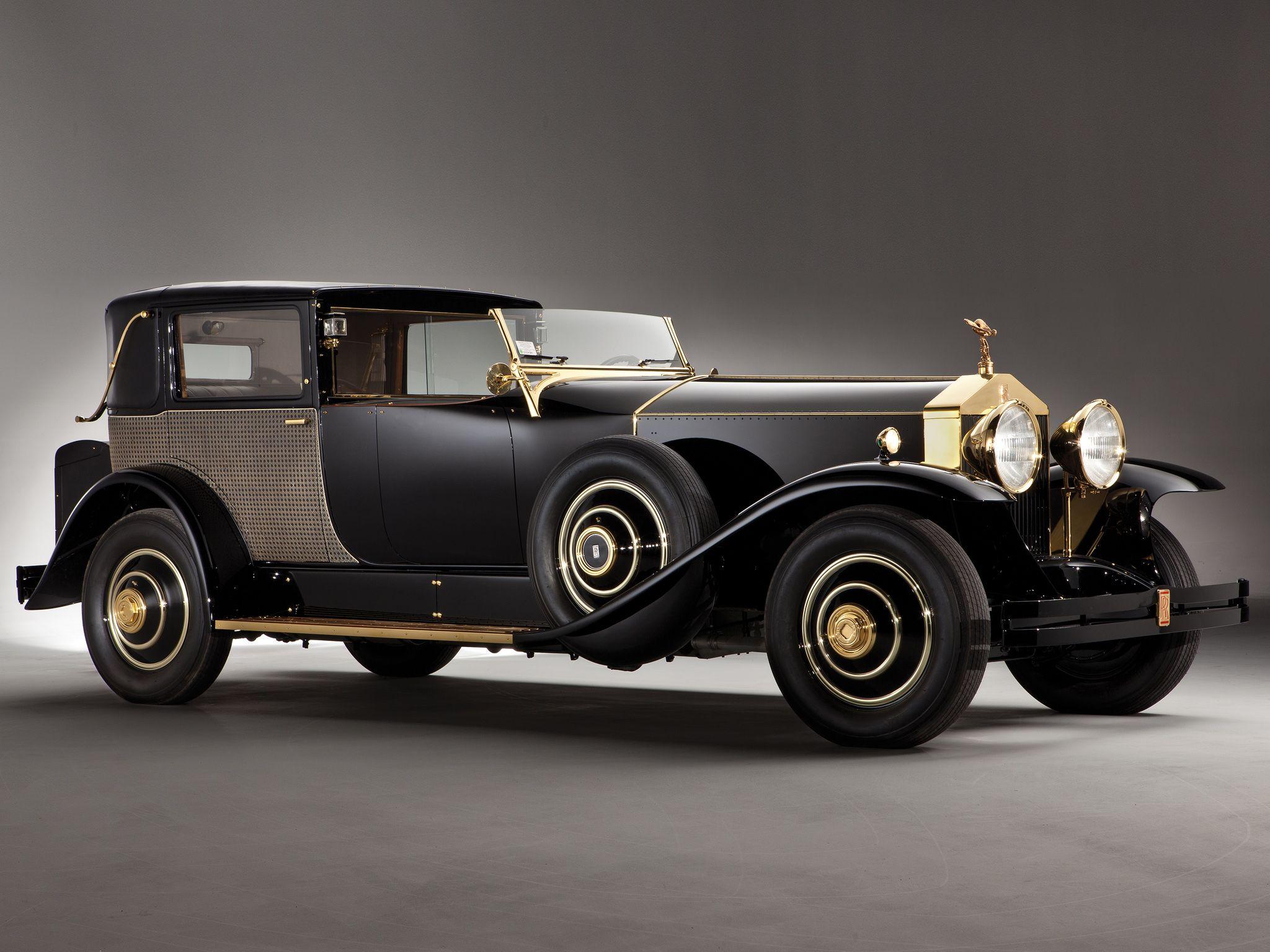 1929 Rolls Royce Phantom Riviera Town Brougham By Brewster Opulenza Rolls Royce Phantom Rolls Royce Classic Cars