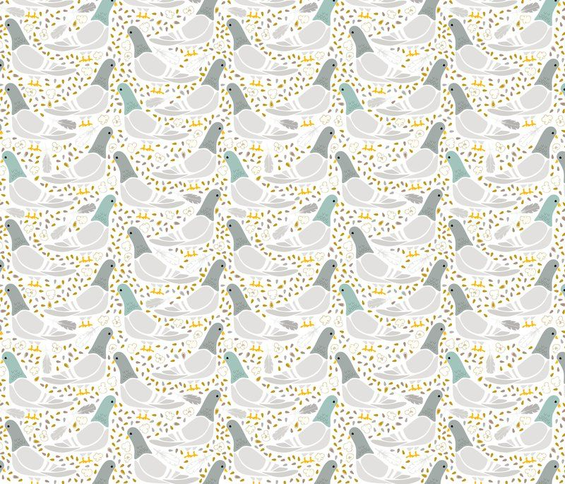 Wallpaper – Shop for Wallpaper By Indie Designers – Spoonflower downtown denizens
