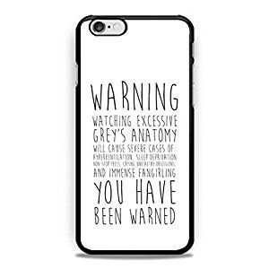 buy popular b2930 7a738 Amazon.com: Grey's Anatomy iPhone 6 plus, iPhone 6s plus Case: Cell ...