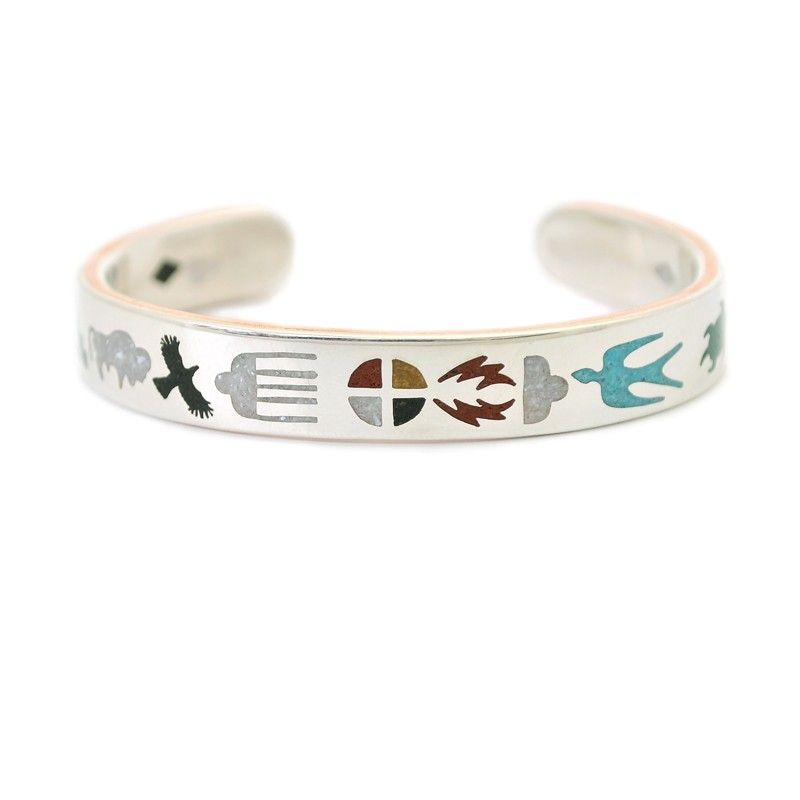 Lakota life bracelet native american jewelry artist