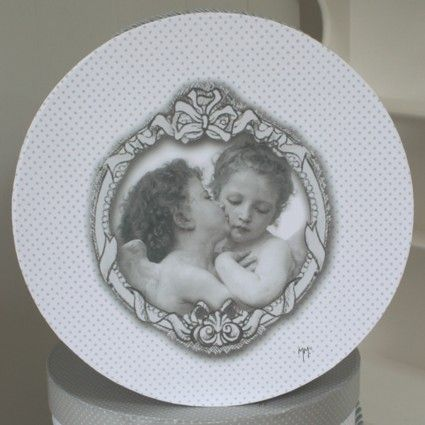 Bo te mathilde m d coration anges amoureux for Boite shabby chic