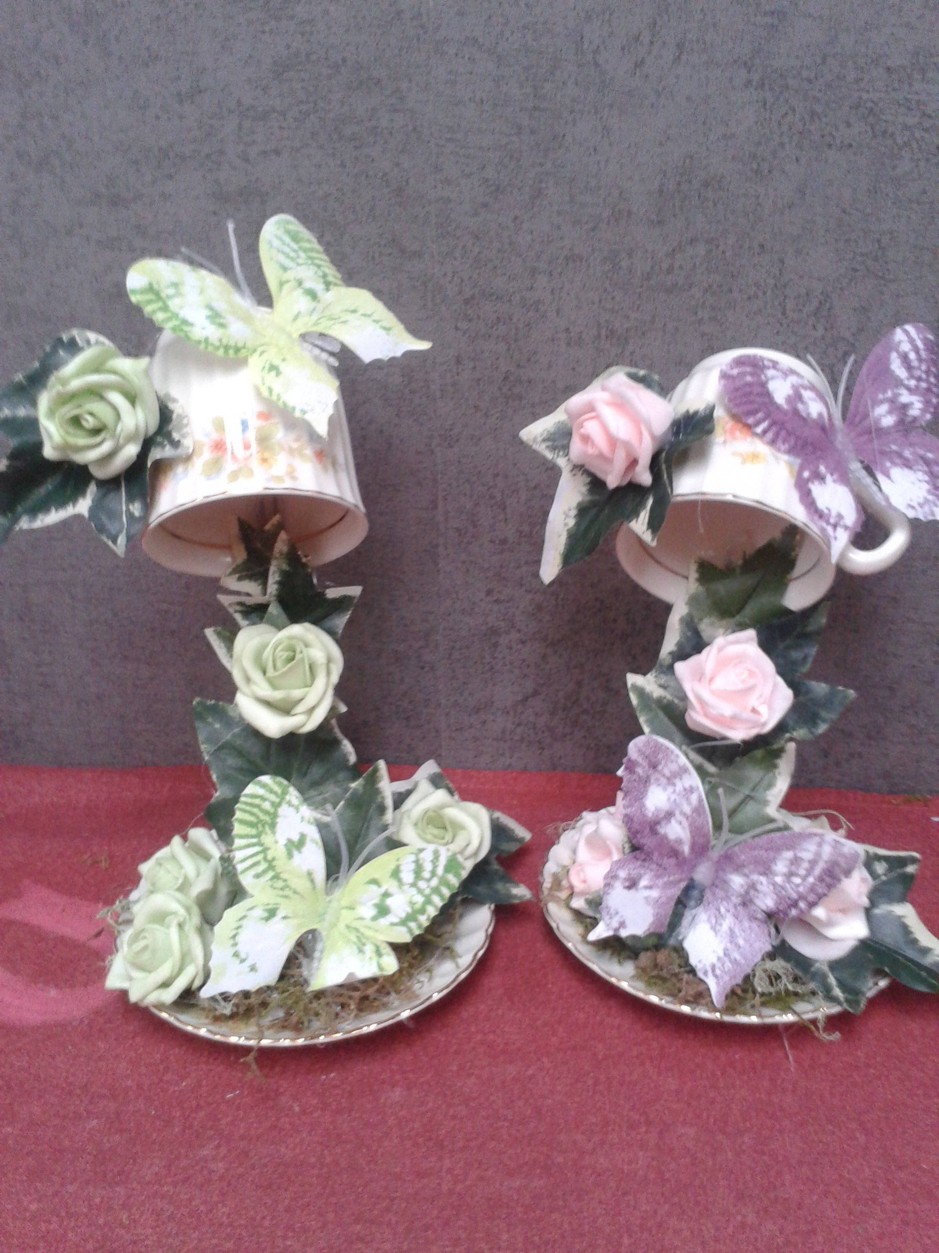 Kop en schotel net even anders op bestelling leverbaar zwevende kop en schotel pinterest - Decoratie schotel ...