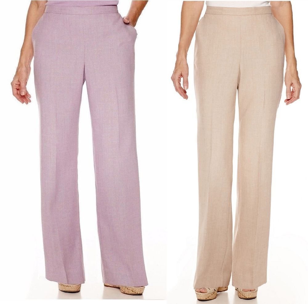 Alfred Dunner Womens Pants Northern Lights size 16 18 20W 22W NEW