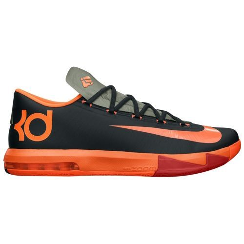 Nike KD VI   VI 's Basketball Shoes Anthracite/Team Orange fca0cf