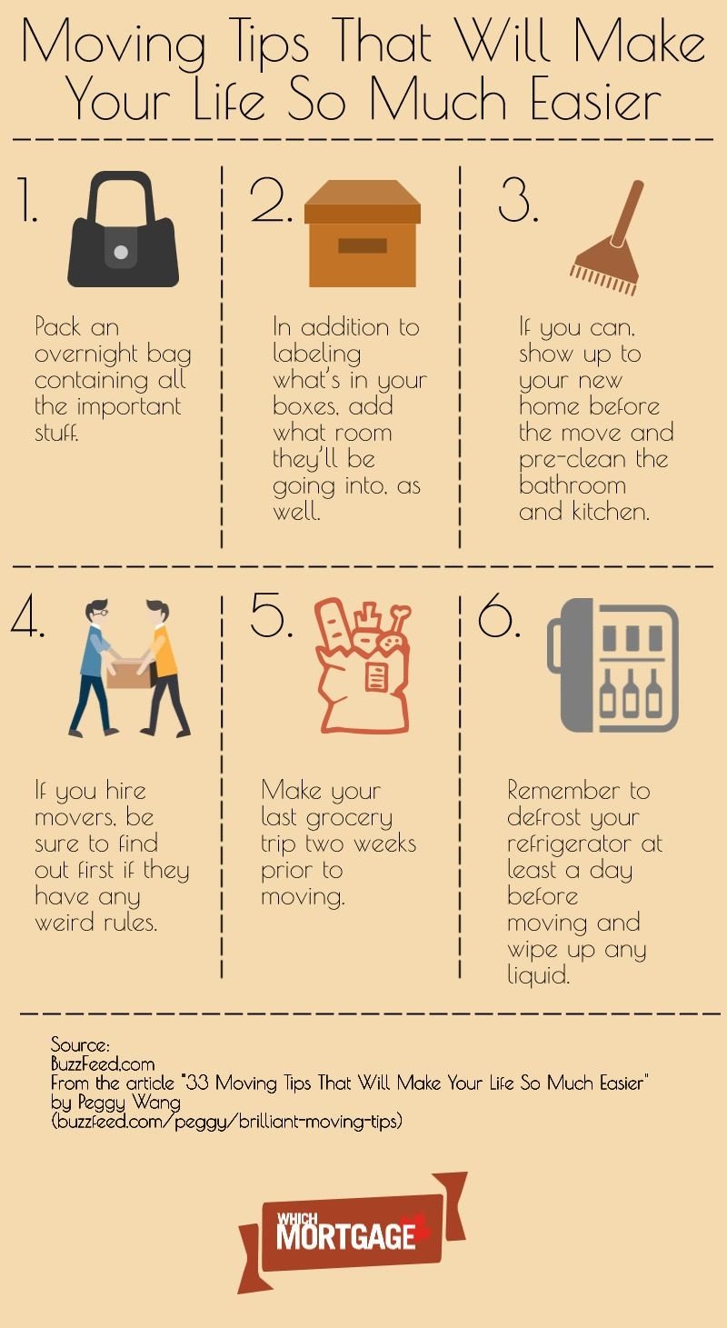 6 moving tips that will make your life easier