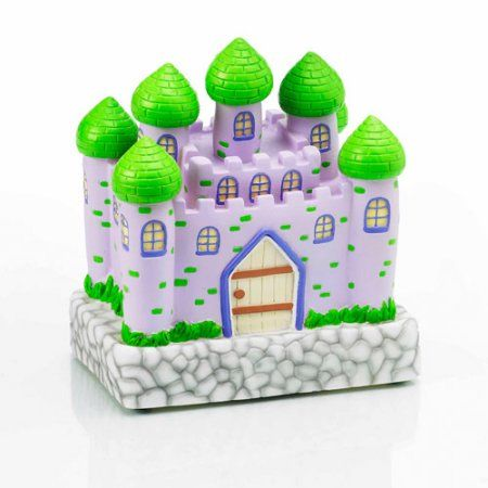 Glow Anywhere Pink LED Castle