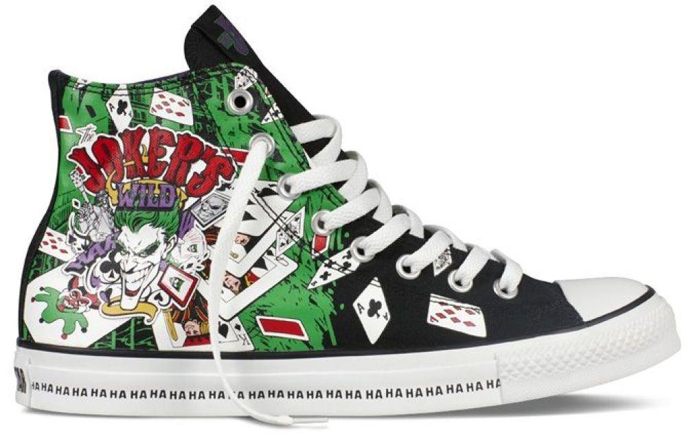 DC Converse Joker Shoes | Converse, Nerd shoes, Shoes