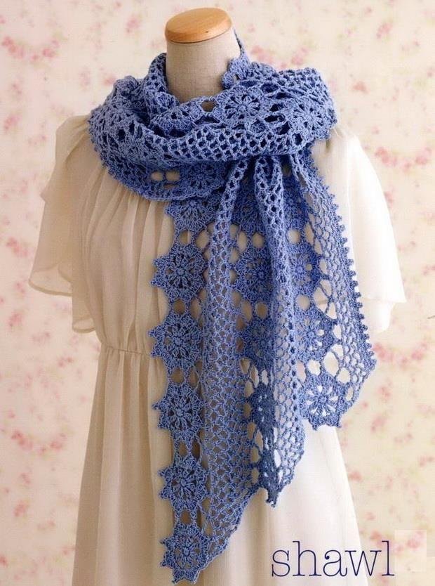 Crochet Shawls Crochet Pattern Of Lace Shawl Wrap Crochet
