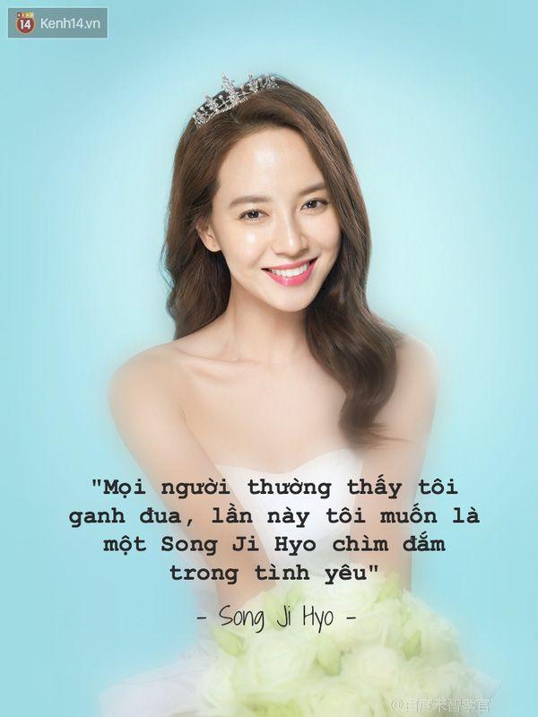 Song Ji Hyo: Tôi cũng muốn được yêu như một người phụ nữ bình thường - Ảnh 1.
